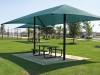 fabric shade shelters